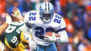 Repeat youtube video Emmitt Smith (RB, Dallas Cowboys) Career Highlights | NFL
