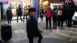 JHKTV] 홍대댄스디오비hong dae k-pop dance dob mic drop