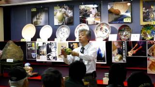 石川県加賀市で九谷焼を展示販売している九谷焼専門店 九谷満月 スタッ...
