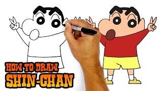 How to Draw Shin-Chan | Crayon Shin-Chan