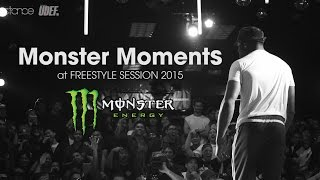 MONSTER MOMENTS at Freestyle Session 2015 // .stance // UDEFtour.org x Top Sets