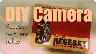 DIY Recesky Twin Lens Reflex Camera - Full Video