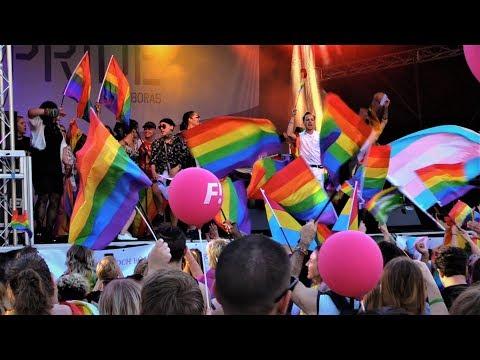 Borås Pride 2017 - PARADEN!