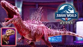 TRYOSTRONIX LEGENDARY NEW HYBRID UNLOCKED!!! (JURASSIC WORLD ALIVE)