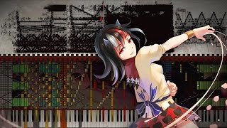 Black Score: Touhou 14.3 - Cheat Against the Impossible Danmaku | Black MIDI