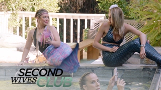 Will Katie Cazorla's Mermaid Party be Drama-Free? | Second Wives Club | E!