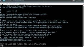 RAID Logiciel avec MDADM sous Linux