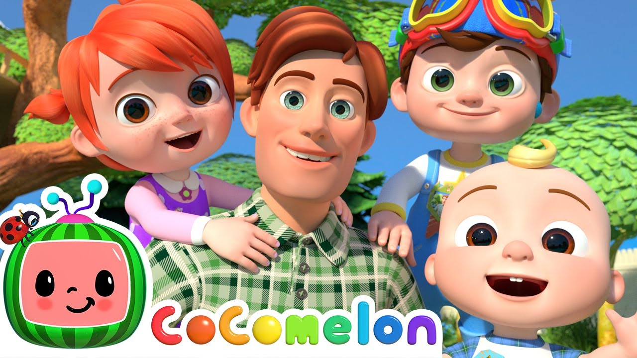 Father's Day Song   CoComelon Nursery Rhymes & Kids Songs