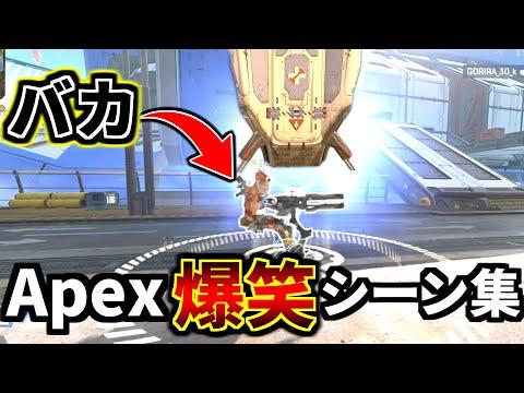 【爆笑】Apex Legends 冒頭面白クリップ集 Part8 『酢酸キャノン、Rasと叶のチキンレース』