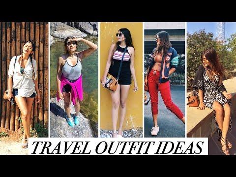 7 TRENDY TRAVEL OUTFIT IDEAS 2017 | LOOKBOOK | Larissa D'Sa