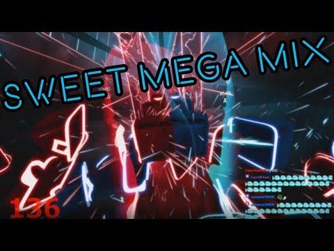 This Beat Saber Mega Mix is fantastic
