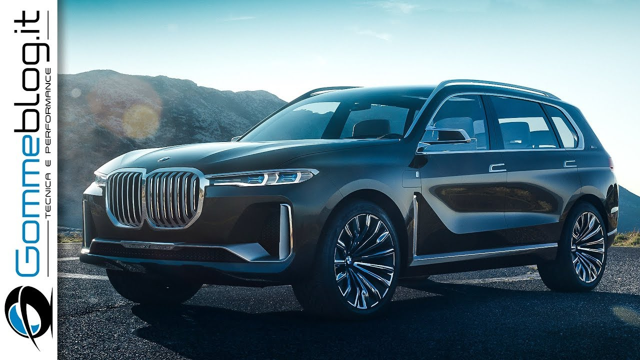 bmw x7 2017 concept a new dimension in spaciousness suv. Black Bedroom Furniture Sets. Home Design Ideas