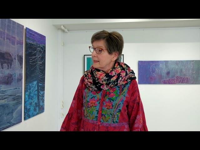 Voima & Herkkyys, Tarja Heilimon näyttelyn esittely