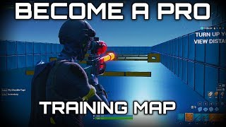 FORTNITE TRAINING MAP! | Aim/Builds/Edits | WORLD CUP WARMUP