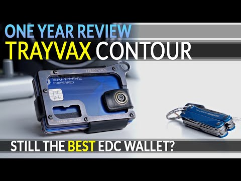 [1 YEAR REVIEW] Trayvax CONTOUR: Still the BEST EDC wallet in 2020?