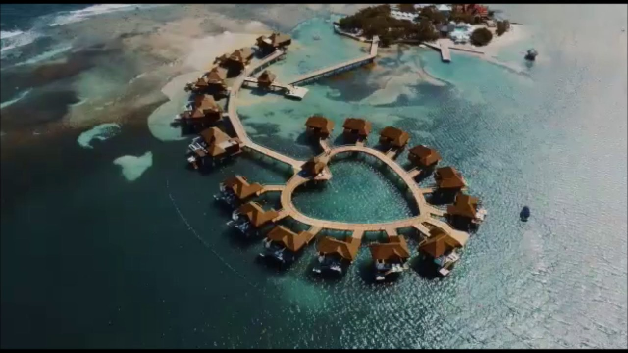 f396458f405fa Sandals Royal Caribbean Over Water Suites - YouTube
