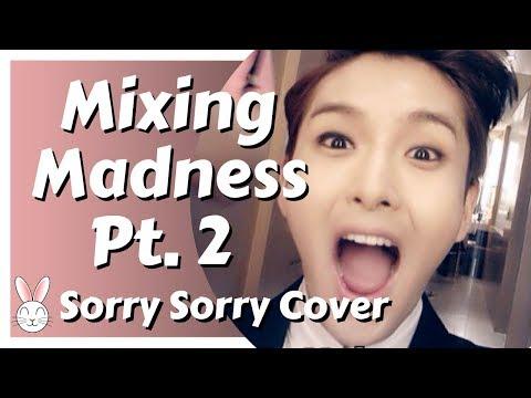 Crazy crazy crazy Pt. 2 (Mixing my cover of SuJu's Sorry Sorry)