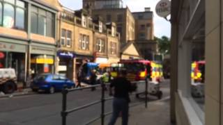 Truck crash in Glossop  Tuesday, May 20, 2014