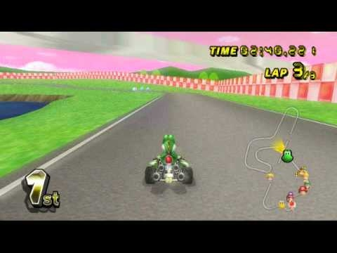 mario kart wii race tracks