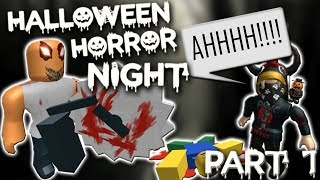 THE SCARIEST GAME ON ROBLOX (Halloween Horror Night) - Part 1