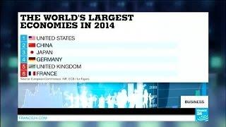 Has the UK overtaken France in global economic rankings?