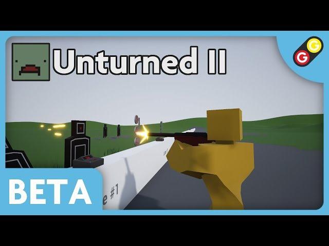 Unturned II BETA - Weapon Demo [FR]