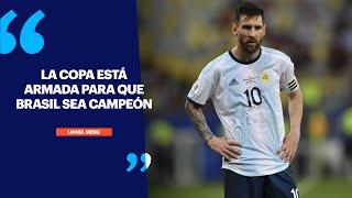 Messi, furioso:
