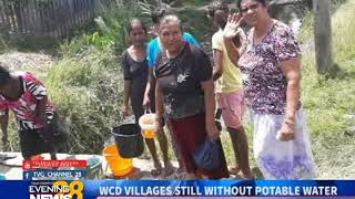 WCD VILLAGES STILL WITHOUT POTABLE WATER-13/10/2018