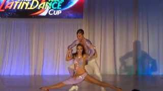 ABDA DANCERS CEM & MELISA - WLDC - On1 SALSA 4.PLC TURKEY 2014