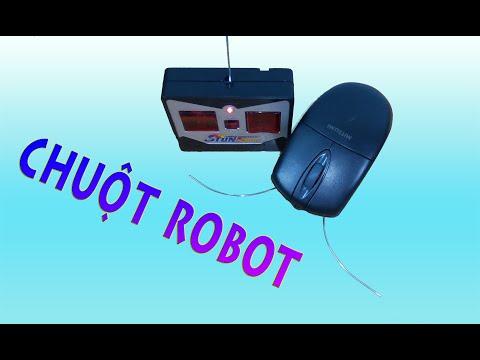 Hướng dẫn làm CHUỘT ROBOT điều khiển từ xa