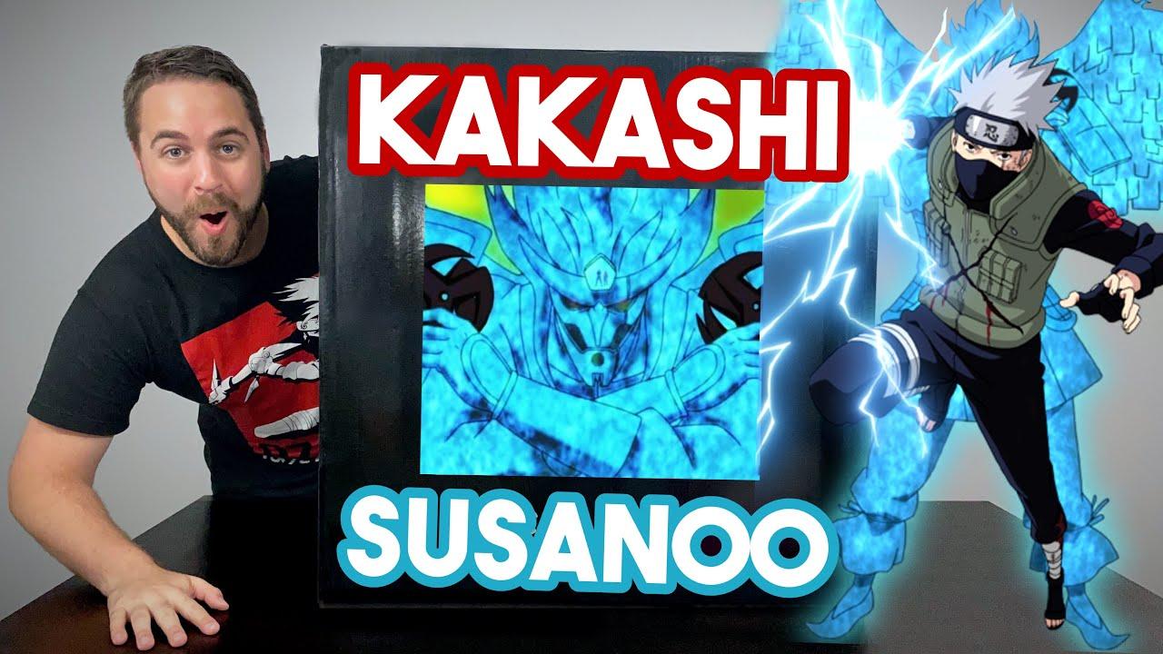 UNBOXING! Kakashi COMPLETE Susanoo Statue by SxG Studio