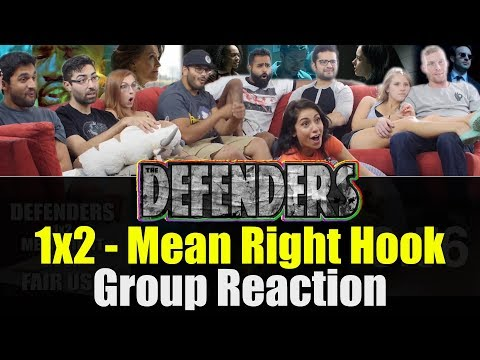 Defenders - 1x2 Mean Right Hook - Group Reaction!