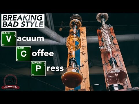 Building A Breaking Bad Style Vacuum Coffee Maker