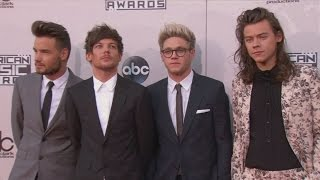 American Music Awards 2015: One Direction, Justin Bieber and more stars hit the red carpet