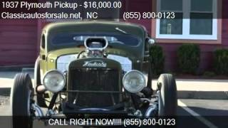 1937 Plymouth Pickup  for sale in Nationwide, NC 27603 at Cl #VNclassics