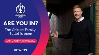 ICC Cricket World Cup 2019 | Are you in?