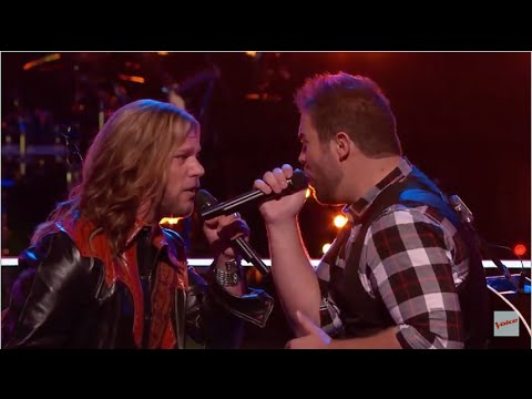 Craig Wayne Boyd - Wave on Wave (The Voice 2014 Battle Round vs James David Carter)