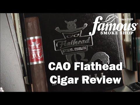 CAO Flathead Cigars Review - Famous Smoke Shop