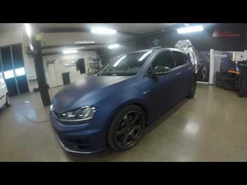 WTP DEKOR Professional Vehicle Wrap Installer - Golf R - Matte Metallic Night Blue