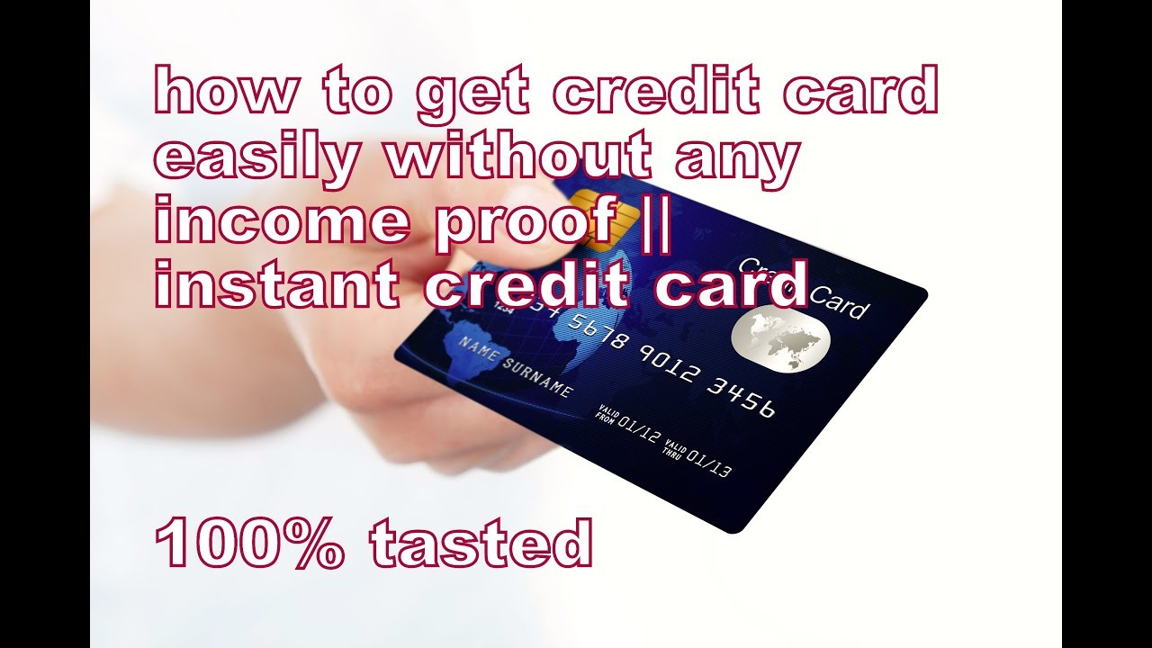 How to Get a Credit Card Without a Job