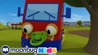 Boo Boo Song | Geckos Garage | Toddler Fun Learning | Learning songs For Children | Moonbug Kids