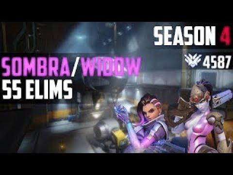[SR:GM] Codey - Sombra/Widow - Gibraltar (Ft.Valkia, ManofSnow, Fake, Buns, Moonmoon)
