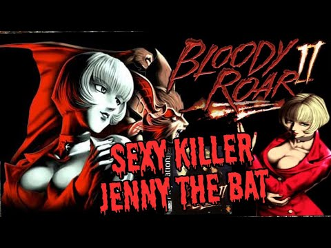 Sexy killer Jenny - Bloody Roar 2 PSX - The Real Sexy Killer Jenny The Bat - 동영상