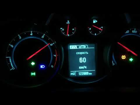 Chevrolet Cruze 1.8 Acceleration 0-195 Km/h