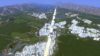 Zapomniałem o rakiecie, osiedle przy rakietowni - Cities: Skylines S07E60