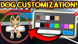 NEW DOG CUSTOMIZATION UPDATE!? | ROBLOX: Mad City