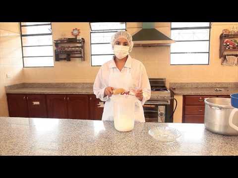 Elaboración de dulce de leche. Serie: Conservación y elaboración de alimentos.