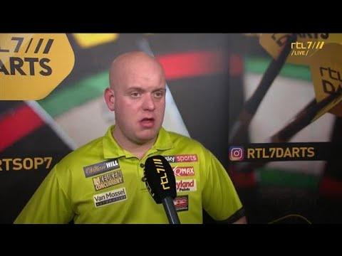 Van Gerwen: ''Ik kan het alleen mezelf verwijten'' - RTL 7 DARTS: WK 2018