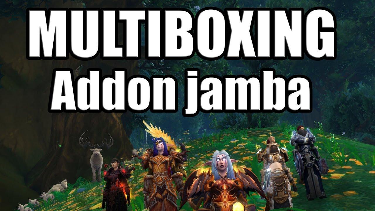 MULTIBOXING : Addon Jamba - GUIDE FR IsBoxer