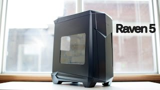 batman Case? SilverStone Raven 5 RV05 PC Case Review